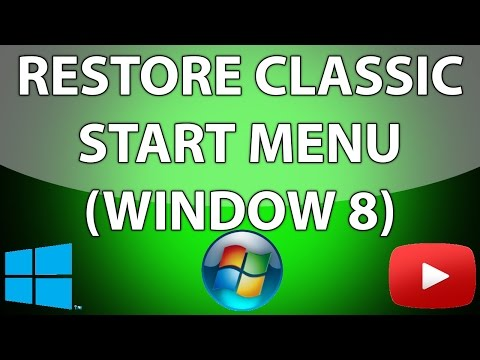 How to Bring Back the Windows Start Menu in Windows 8.1