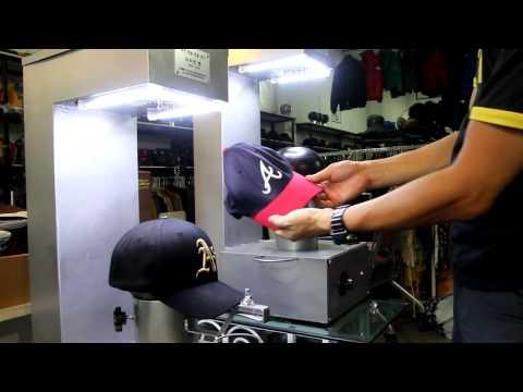 (신제품)자막유-특허등록 네이버검색:모자다리미-세계최초MLB 야구모자 다림장치. 모자다림질.모자세탁 모자복원 모자빨래방 주름복원