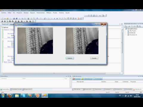 Obtener Imagenes desde la webcam Visual Studio 2008 | Get images from the webcam Visual Studio 2008
