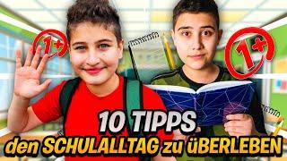 BESSER LERNEN ?👍🏻 10 Tipps für den Schulalltag ! [Homeschooling] 💯 | CRASHBROS2