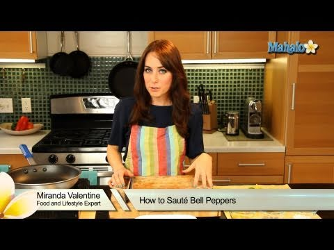 How to Saute Bell Peppers