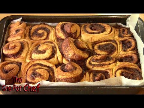 Cinnamon Scrolls | One Pot Chef