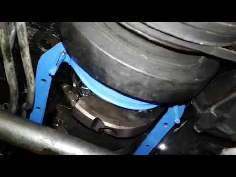 350 chevy oil pan gasket installation