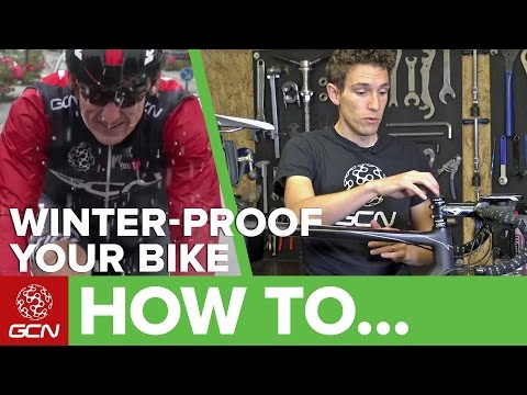 How To Winter-Proof Your Road Bike