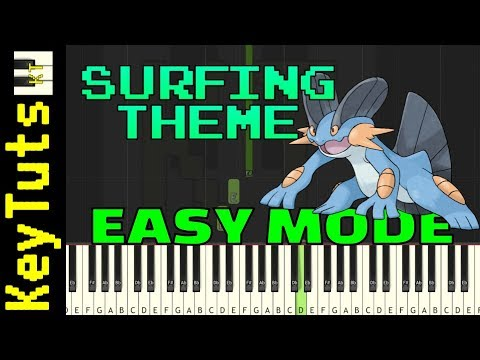 Learn to Play Surfing Theme from Pokemon Ruby and Sapphire - Easy Mode