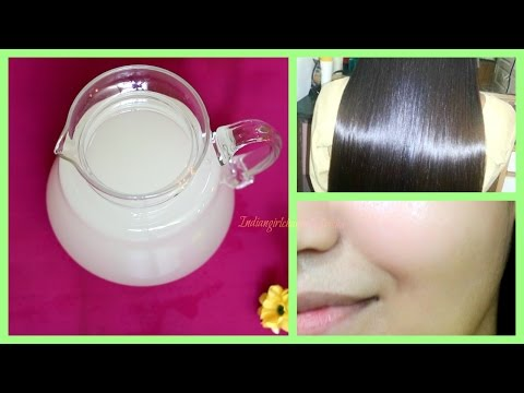 Get healthy hair and beautiful flawless skin by using rice water