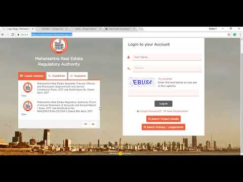 Find all the detail of any builder or real estate development in Maharashtra without registering