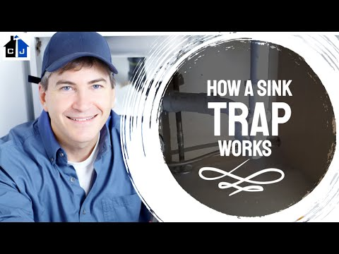 How a Sink Trap Works
