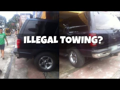 MMDA Illegal Towing?