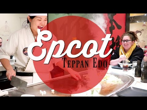 Epcot Teppan Edo | Cooking & Experience | Ever After Take Three