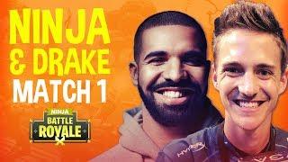 Ninja and Drake Play Duos! Match 1 - Fortnite Battle Royale Gameplay