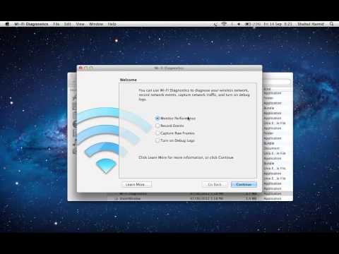 How to check WiFi signal strength on Mac OS X Lion