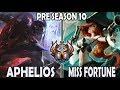 APHELIOS vs MISS FORTUNE ADC [ Griffin Viper ] Lol Challenger Korea * 9.24 *