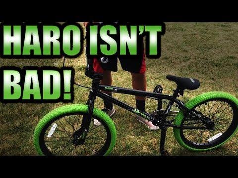 HARO Downtown  BMX Bike Review!