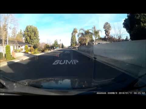 CA DMV Driving Test Dash Cam