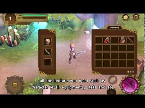 MMO RPG online server-client asset