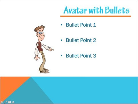 PowerPoint Tutorial - 3 Minute Custom Animated Bullet Points for PowerPoint