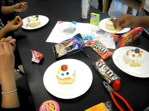 Making an edible plant or animal cell model