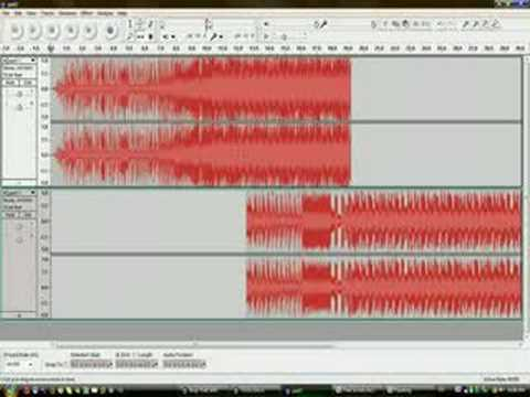 How to mix in audacity