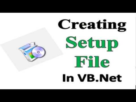 Creating setup file in VB.Net in Hindi