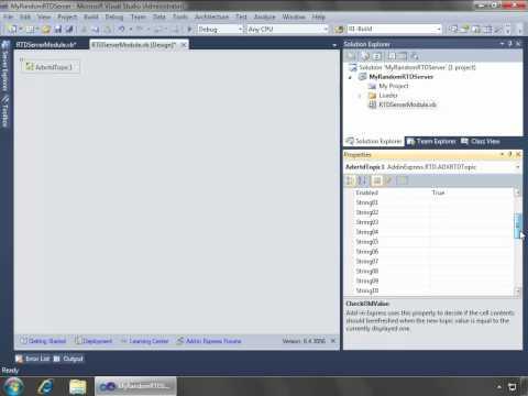 Building an Excel RTD server in Visual Studio (C#, VB.NET)