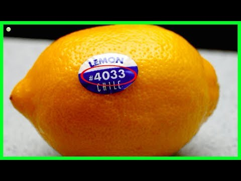 Do You Know The Meaning Of Fruit Stickers? They Can Hugely Affect Your Health - Fruit Codes Meaning