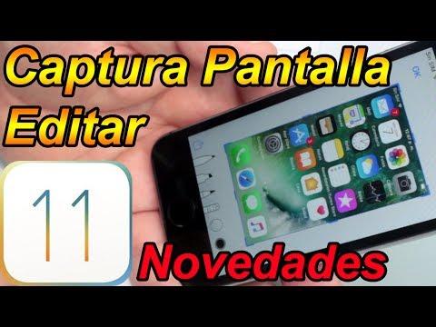 Como Editar Una Captura De Pantalla iOS 11 - iOS 11 Mejores Funciones Parte 5