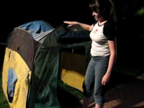 How to Make a Dressing Room Tent - Part 1