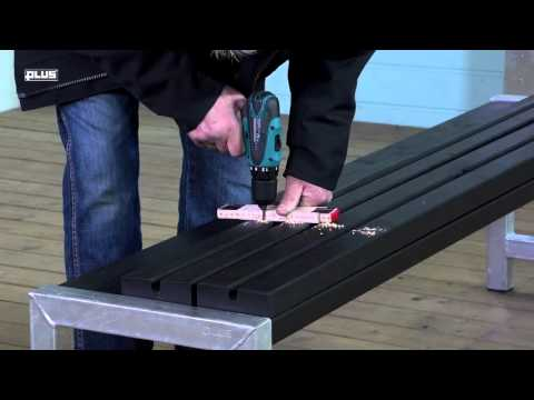 PLUS® Plank bench with backrest