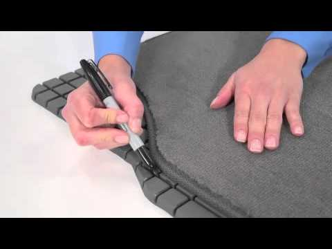 How to Trim a Floor Mat by Kraco