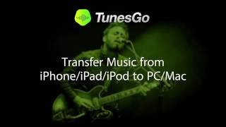 Tunesgo Transfer Music From Iphoneipadipod To Pcmac