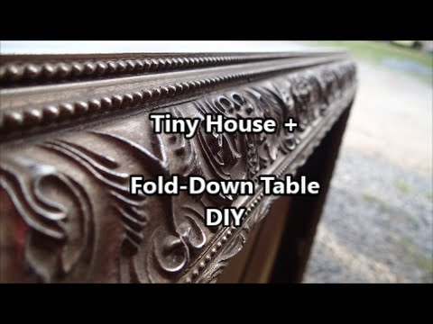Tiny House + :: DIY Fold-Down Table
