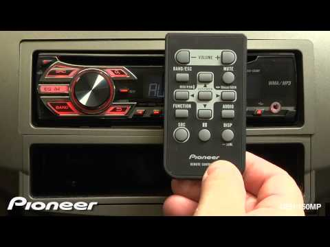 How To - DEH-150MP - Remote Control
