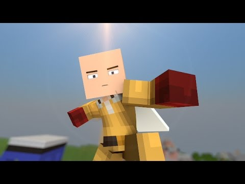 One Punch Man plays Hunger Games - Minecraft Animation