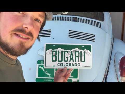 BUGaru Plates - Vermont to Colorado