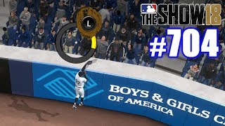 ROBBING A HOMER IN THE POSTSEASON! | MLB The Show 18 | Road to the Show #704