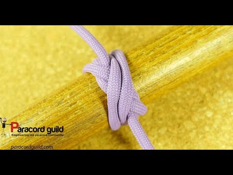 Boa knot- a secure binding knot