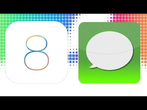 iOS 8: Messages app on iPhone and iPad