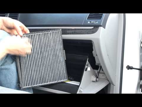 Hyundai Santa Fe Cabin Air Filter / glove box