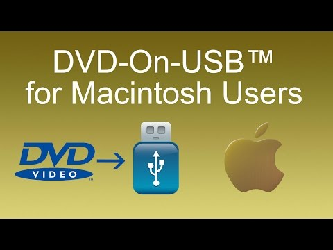 How to play DVD on USB flash drive - Mac Version