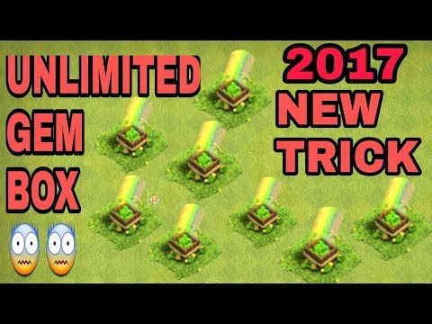 Unlimited Gem Box In Clash of Clans