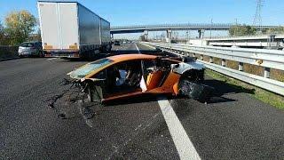 Download Lamborghini Crash Compilation Video