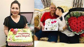 NSND Hồng Vân Xu'c Đông Khi Được Ông Xã Tự Tay La`m Quà Tặng Nhân Ngày Sinh Nhật Tuổi 53