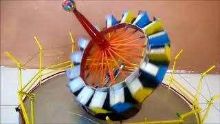 Maqueta Space Loop Juego Mecanico A Escala Vidly Xyz