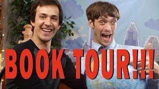 BOOK TOUR ANNOUNCEMENT!!!