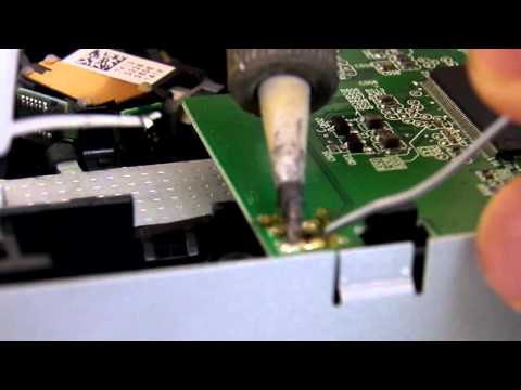 [Xbox 360]Replace BenQ VAD6038 DVD-Drive(PCB Swap - Soldering - Without Flashing - Tutorial)