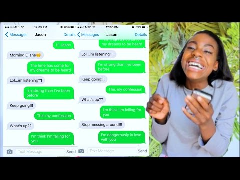 SONG LYRIC TEXT PRANK ON MY CRUSH!!! He REJECTED ME!