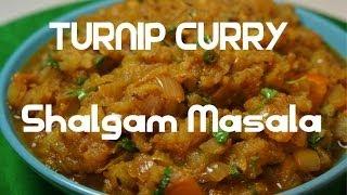 Turnip Curry Indian Shalgam Shaljam Masala Vegan