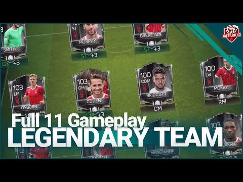FIFA MOBILE 18 S2 Full 100 OVR Legendary Black Card Team | Season 2 Legendary Squad Builder
