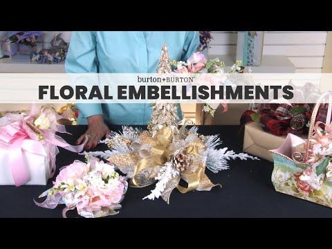 Creative Solutions™ Design Lab: Floral Embellishments